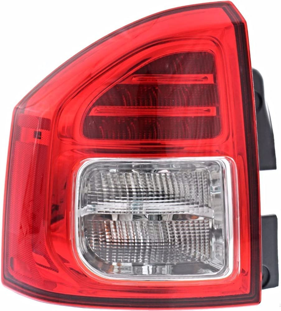 Fits 11-13 Jeep Compass Left New color Driver Assembly Lamp Tail Ranking TOP5