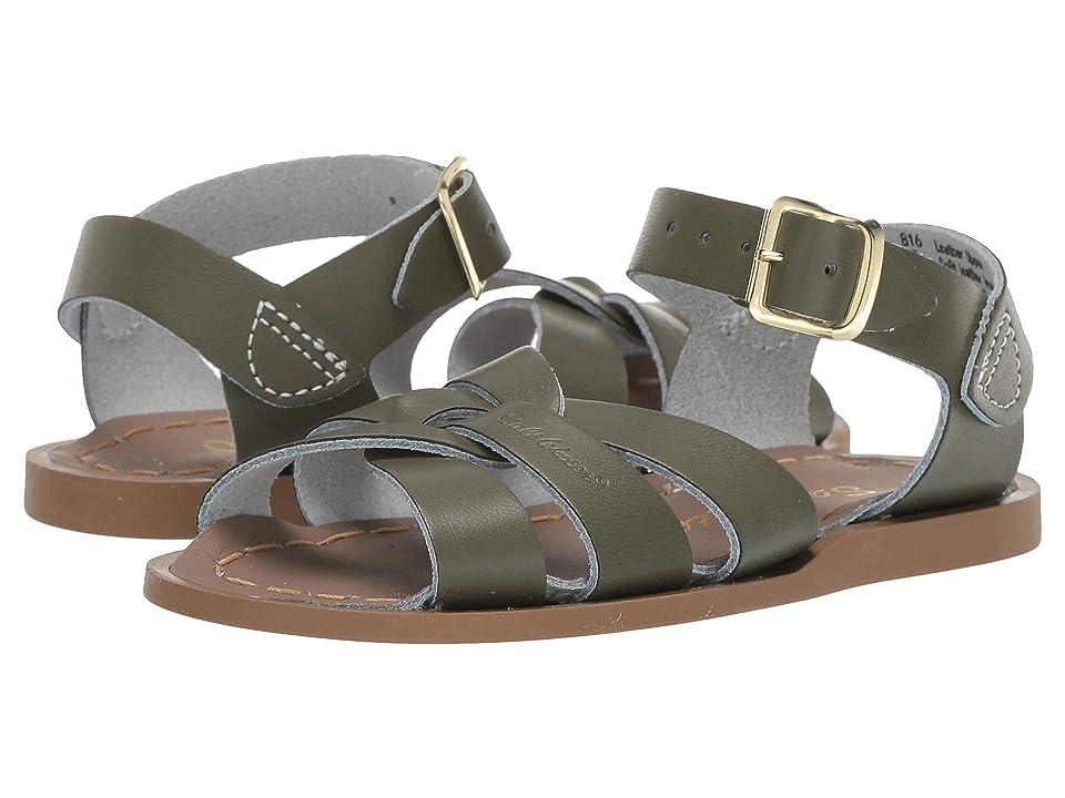 Salt Water Sandal by Hoy Shoes The Original Sandal (Infant/Toddler) (Olive) Girls Shoes