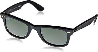 Rayban Standard Wayfarer Unisex Sunglasses (RB2140|901/58 50|50 millimeters|Green)