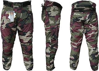 Pantalones de Goretex impermeables dise/ño de estampado de camuflaje