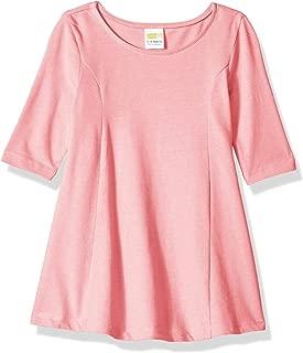 Baby Girls Long Sleeve Casual Knit Dress