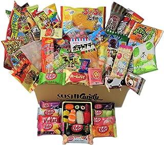 60 japanische Süßigkeiten & Snacks 10 Sushi Süßi