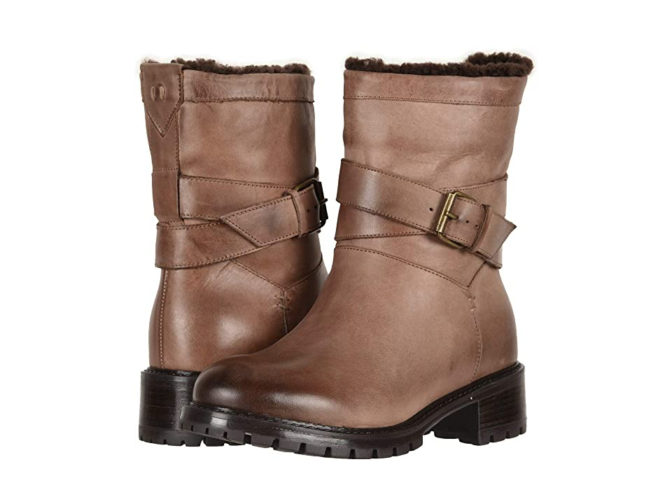 Ross & Snow Cristiana SP Moto Boot (Rustic Brown) Women