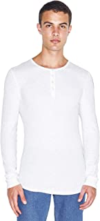 Men's Baby Thermal Long Sleeve Henley