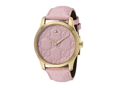 Gucci G-Timeless YA1264104 (Pink/Gold) Watches