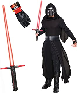 Star Wars: The Force Awakens Kylo Ren Deluxe Adult Costume Kit Standard Black