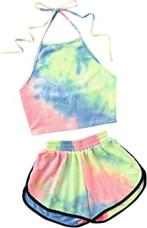Best halter crop top and shorts Reviews
