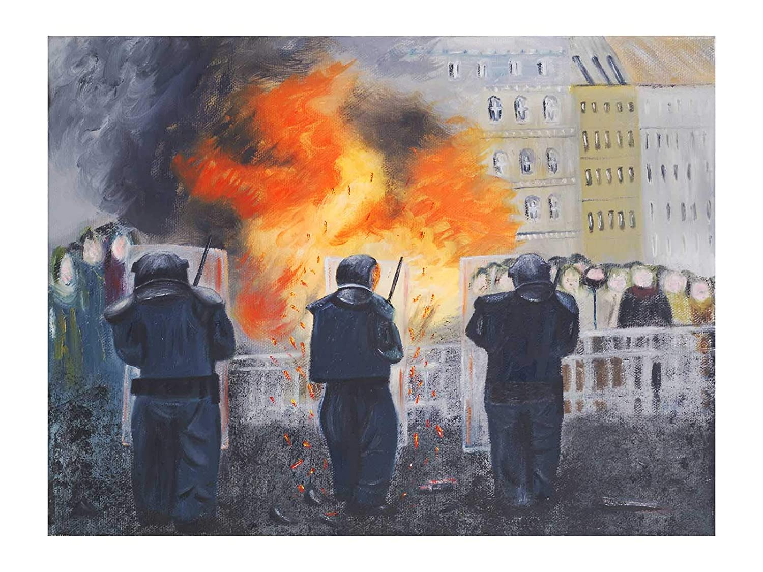 Belfast Credence Art Print Painting Oil Animer and price revision