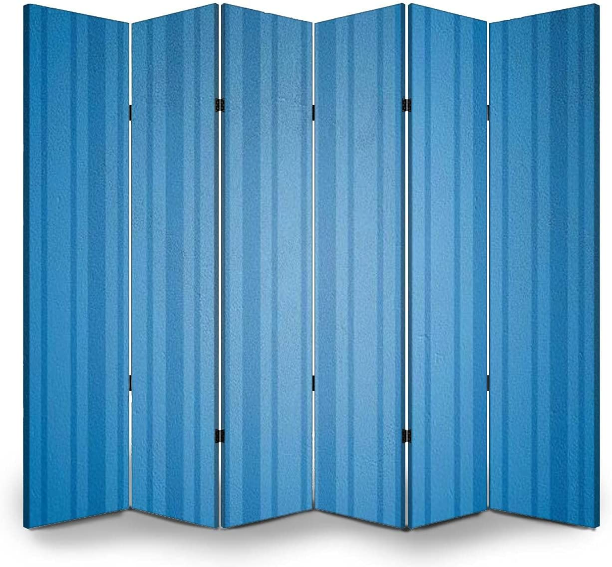 6 Panels Room Divider Fashionable Screen Background Super-cheap Folding Partition Wall P