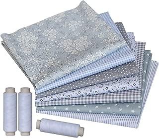 Top Cotton Craft Fabric Bundle Squares Patchwork Fabric DIY Sewing Scrapbooking Dot Pattern 12