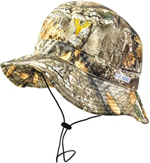 Men's Camo Bucket & Boonie Hat – Realtree Hunting & Fishing, One Size