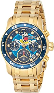 Invicta Women's Quartz Watch, Chronograph Display and Stainless Steel Strap 24130