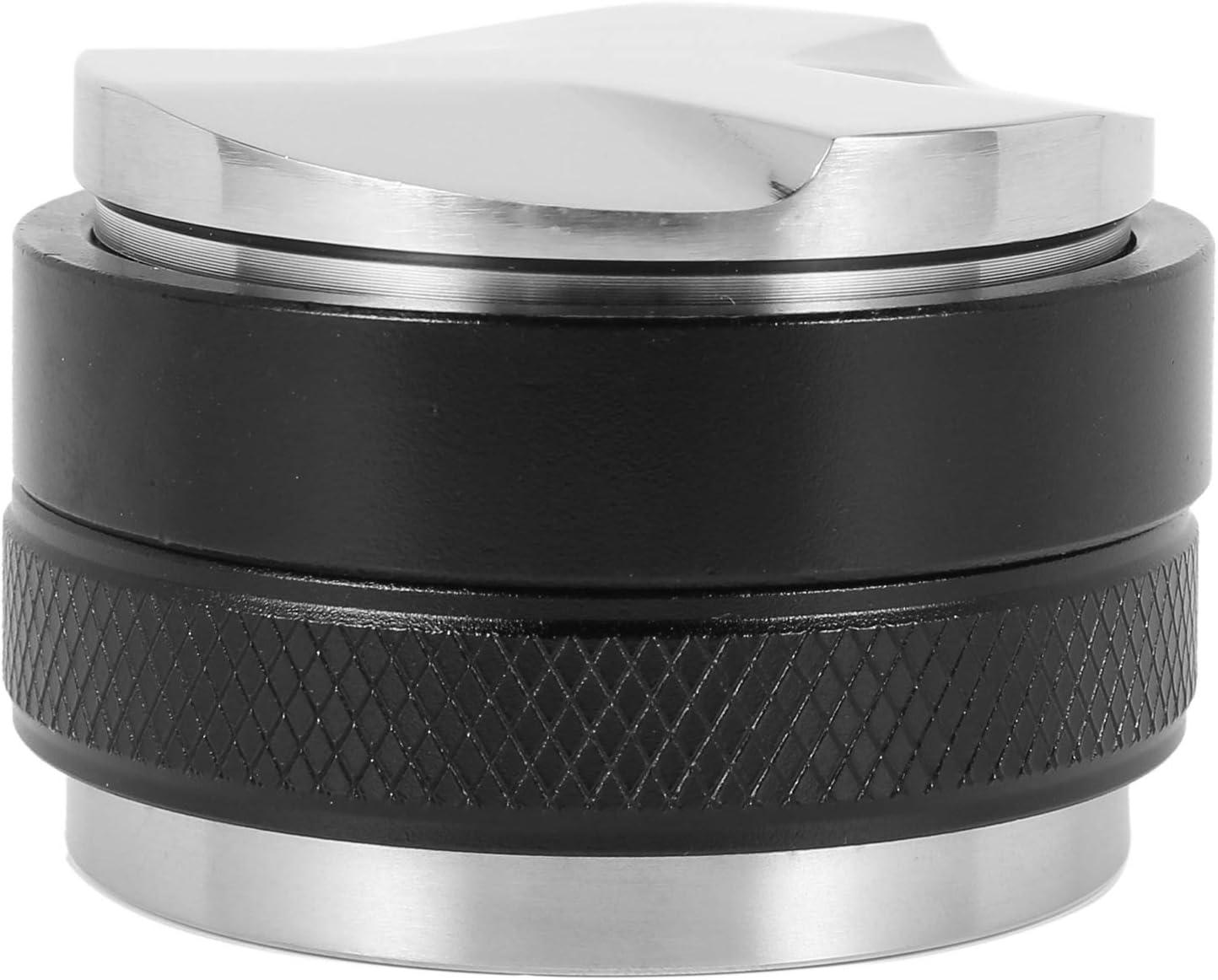 OVBBESS 5 popular Save money 51mm Espresso Tamper Distributor Coffee Dual Head Lev
