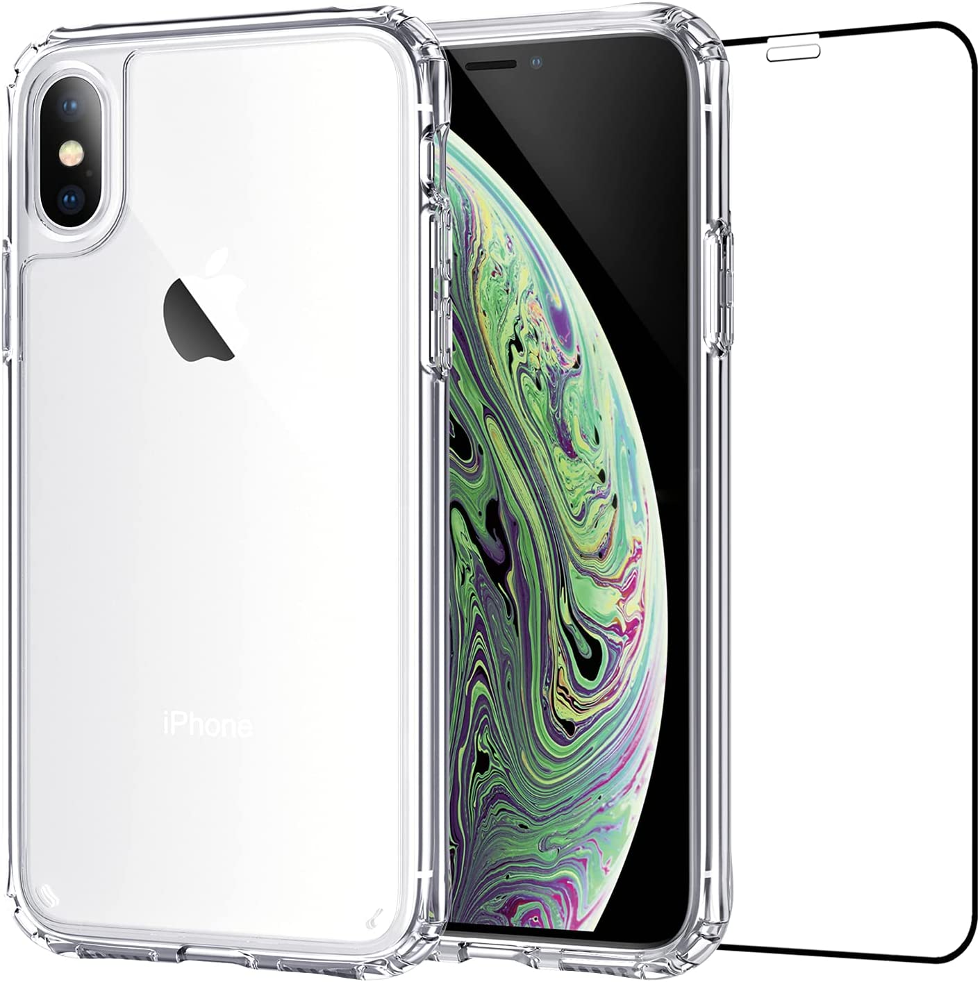 SZINTU Clear Case Compatible with iPhone Xs Max 6.5
