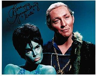 "Star Trek: The Original Series Yvonne Craig as Marta Original Autograph Signed 8"" x 10"" Photo A"