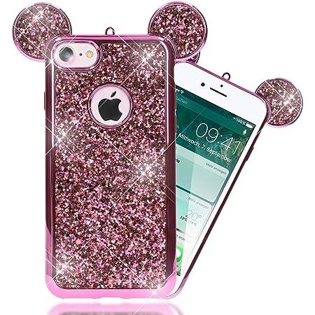 Urcover Custodia Apple iPhone 7/8 Plus Orecchie da Topolino, Cover ...