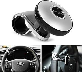 Biqing Pomello del Volante,Universale Silicon Volante manopola Spinner Pomello Impugnatura Dello Sterzo Sfera Accessory Knob for Car Vehicle