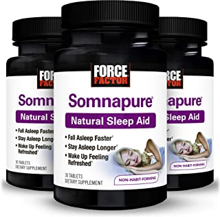 Force Factor Somnapure 30ct 3-Pack, 90 Count