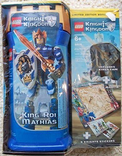 tiendas minoristas LEGO Knights' Kingdom 8809 King Mathias with with with Limited Edition Bonus Pack by LEGO  compra en línea hoy
