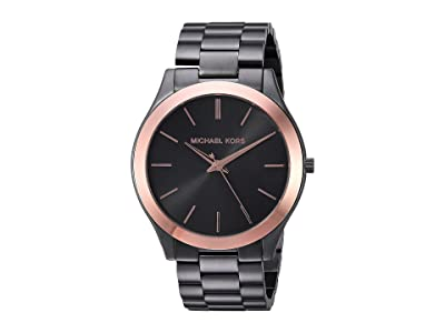 Michael Kors MK8576 Slim Runway (Grey) Watches