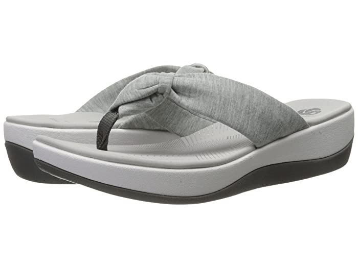 Clarks  Arla Glison (Grey Heather Fabric) Womens Sandals