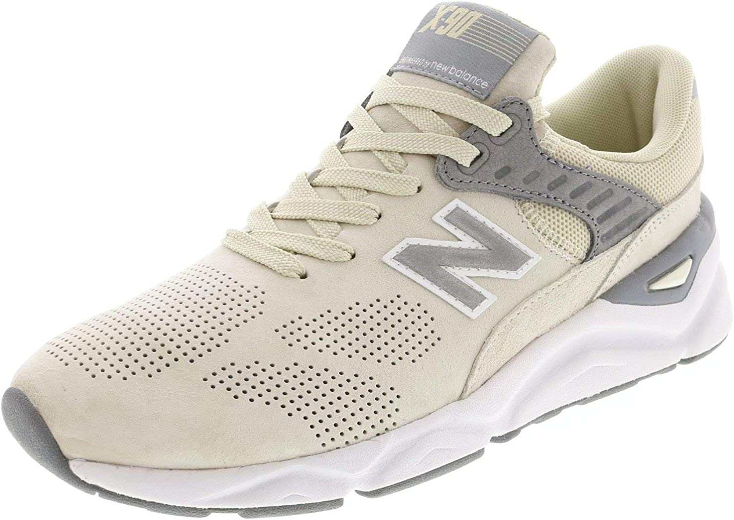 New Balance Women's Wsx90 Ankle-High Leather Fashion Sneaker