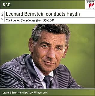 Leonard Bernstein Conducts Haydn Sym Phonies Sony Classical Masters