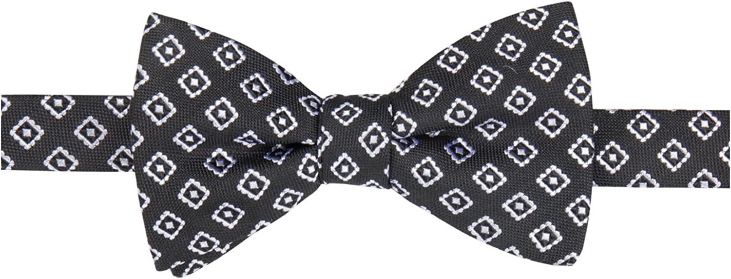 Countess Mara Mens Embroidered Self-Tied Bow Tie