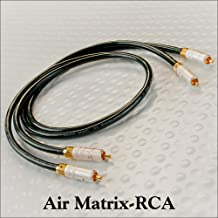 DH Labs Air Matrix RCA Audio Cables 1.0 Meter Pair by Silversonic