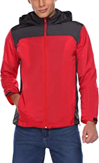 Tilloe Men's Waterproof Windproof Quick Dry Outdoor Jacket Sportswear Windrunner