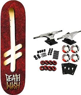 Deathwish Skateboard Complete Gang Logo Holy 8.375