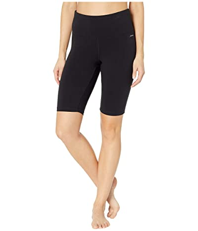 Jockey Active 10 High-Waist Sculpting Bike Shorts (Black) Women