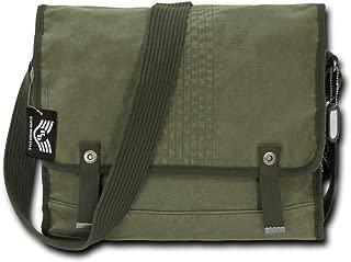 Rapiddominance Vintage Military Messenger Bag, Olive