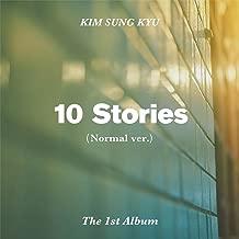 KIM SUNG KYU INFINITE - 10 Stories (Vol.1) [Normal ver.] CD+Postcard+Photocard+Folded Poster+Free Gift