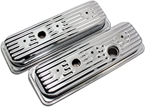 Assault Racing Products A7458 Chevy 4 3L V6 Chrome Valve Covers S10 Blazer 1500 Truck