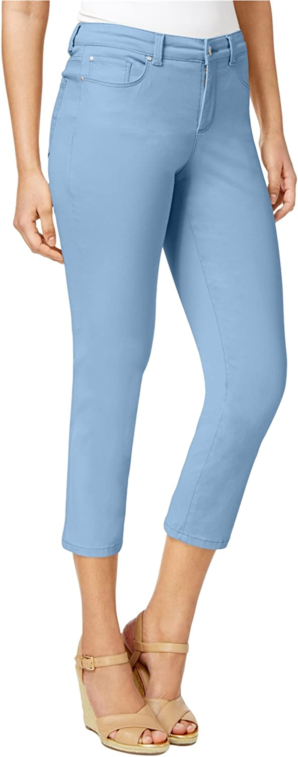 Charter Club Womens Bristol Cropped Jeans