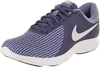 size 40 56268 b1718 Nike Womens WMNS Revolution 4 Blue Pure Platinum Purple Size 6