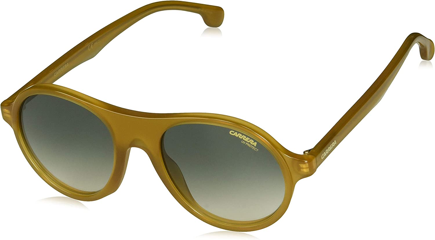 Carrera 142 s Round Sunglasses, Yellow, 50 mm