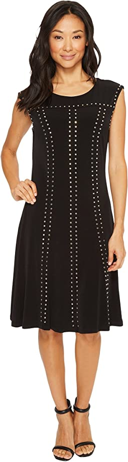Calvin Klein - A-Line Dress with Studs