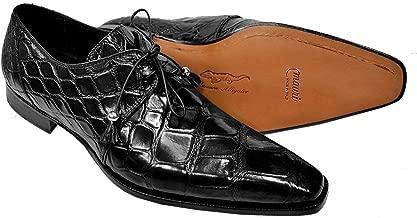 Mauri Mens Genuine Alligator Italian Oxford Shoes 53125