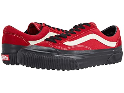 Vans Style 36 SF ((Rubber Dip) Chili Pepper/Black) Athletic Shoes