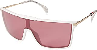 Tommy Hilfiger TH GIGI HADID4 SCK White S 99 Lens U1 RED Sunglasses (Gigi Hadid 4)