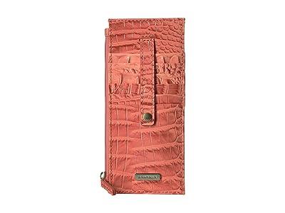 Brahmin Melbourne Credit Card Wallet (Poppy) Wallet Handbags