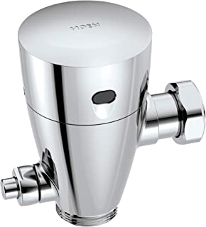Moen 8312R10 M-Power Urinal Battery Powered Retro-Fit Sensor-Operated Electronic Flush Valve 1.0 gpf, Chrome