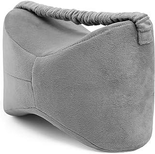 MovilCom® Almohada para Pierna y Rodilla | Espuma con Memoria | Almohada piernas Dormir Alivia el Dolor de Espalda Cadera y Articulaciones | Cojin Embarazada | Almohada para Dormir de Lado Mod.01