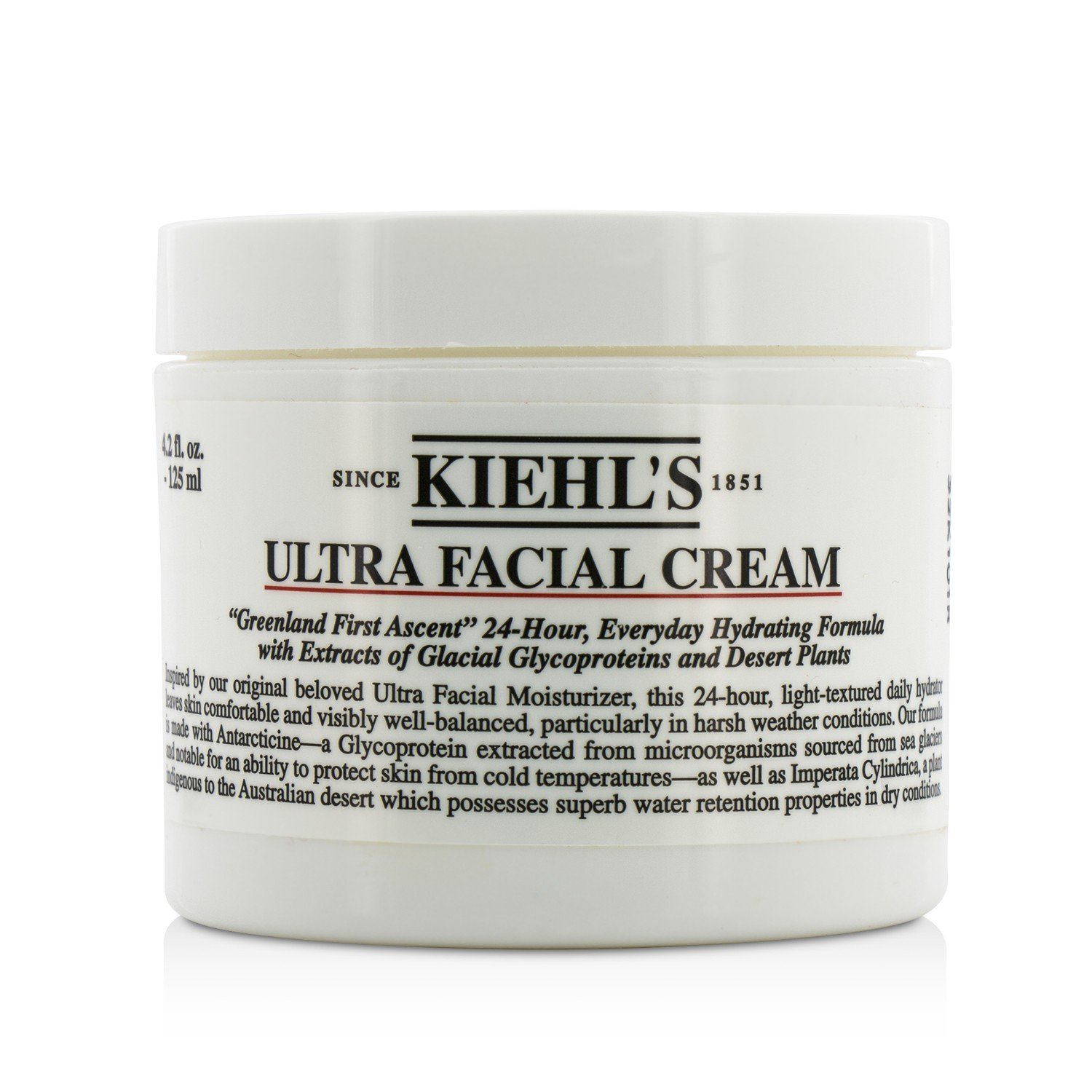 Save money Kiehl's Ultra Facial Cream Ounce Excellent Unisex for 4.2