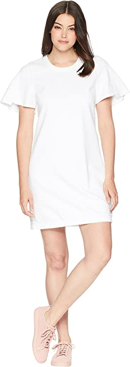7 For All Mankind Popover Dress w/ Kick Sleeves