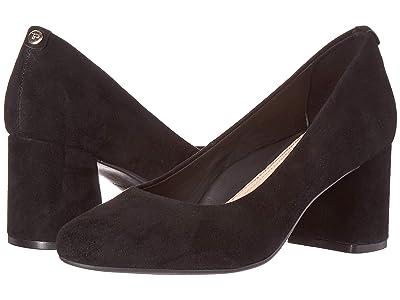 Taryn Rose Ricki (Black Silky Suede) High Heels