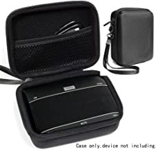 CaseSack Customized Protective Case for Jabra Freeway Bluetooth in-Car Speakerphone, Mesh Pocket for Cable and Accessories, Detachable Wrist Strap for Easy Carrying