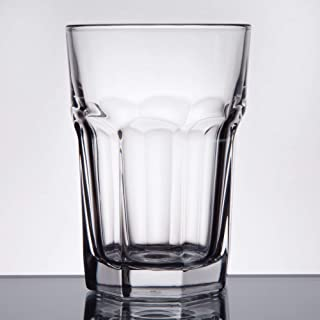 Libbey 15238 Gibraltar DuraTuff 12 oz Beverage Glass , SET OF 6 w/ FDL Party Picks